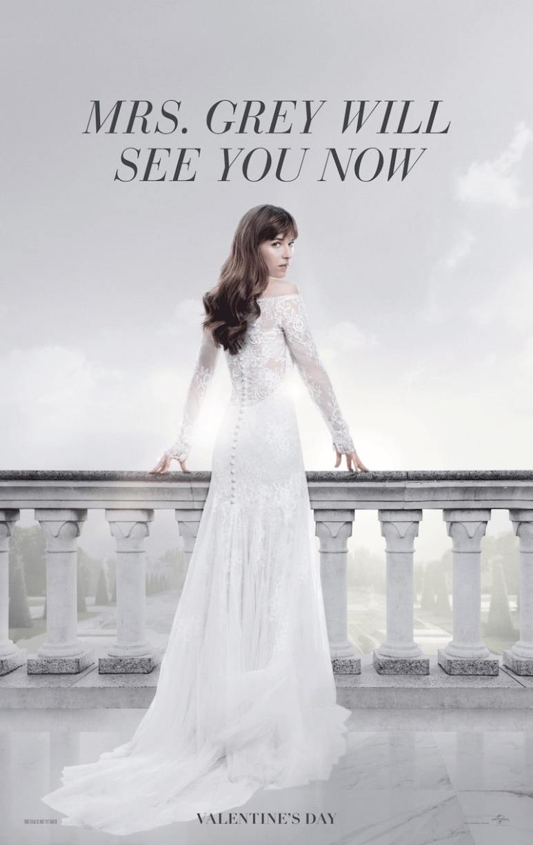 Fifty Shades Freed dress