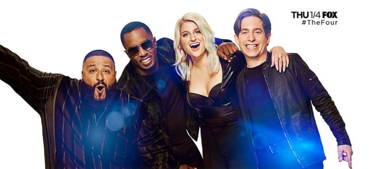 DJ Khaled, Sean Combs, Meghan Trainor and Charlie Walk