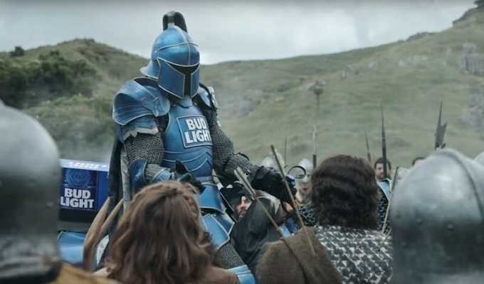 Superbowl bud light commercial americanwarmoms bud light super bowl commercial 2018 the knight comes to rescue aloadofball Image collections