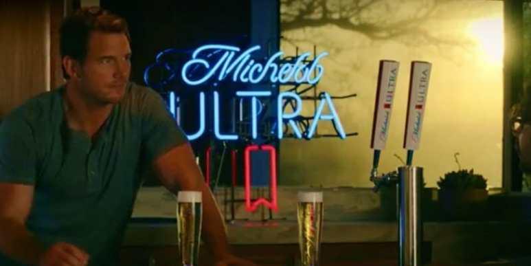 Michelob ULTRA Super Bowl commercial 2018: Chris Pratt