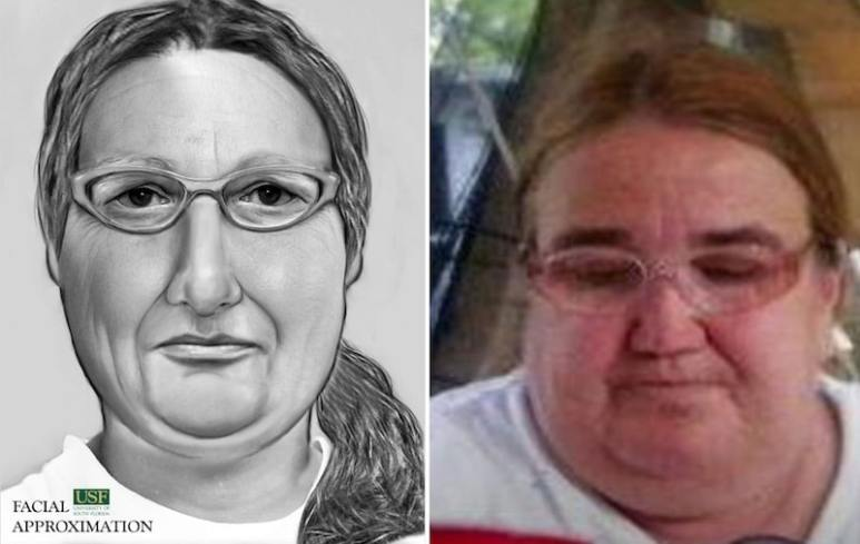 Mary Jane Wever and facial approximation