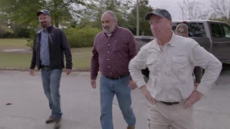Gary Drayton with Kevin Dykstra and Brad Richards