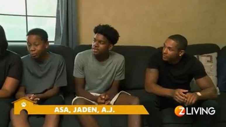 Asa, Jaden, A.J. Holmes