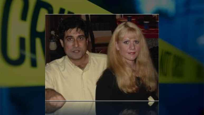 Ejaz Ahmad with Leah Ward