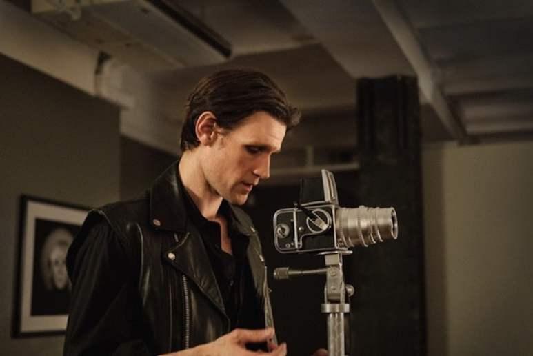 Matt Smith as Robert Mapplethorpe