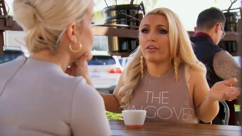 Elena talks to Terra on Little Women: LA