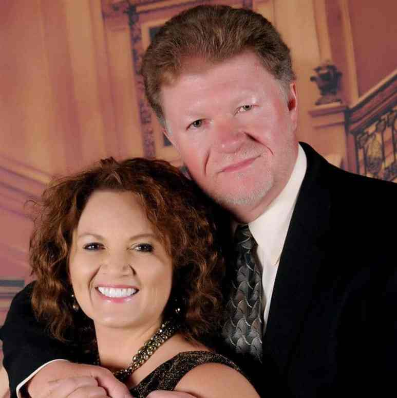 Rhonda Daugherty with her husband Charles Daugherty