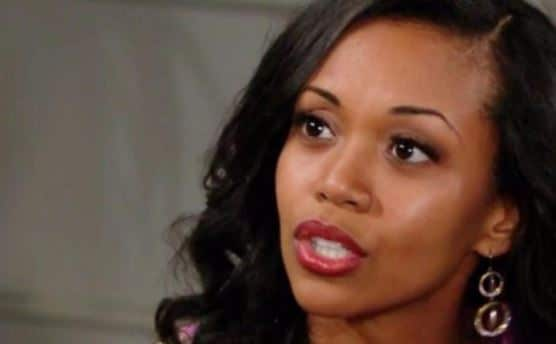 Mishael Morgan as Hilary Curtis on The Young and the Restless