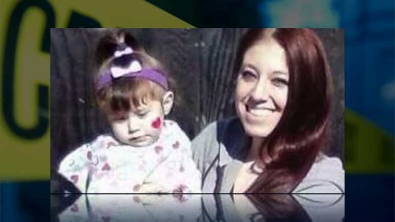 Alyssa Kenny and her daughter - both were murdered