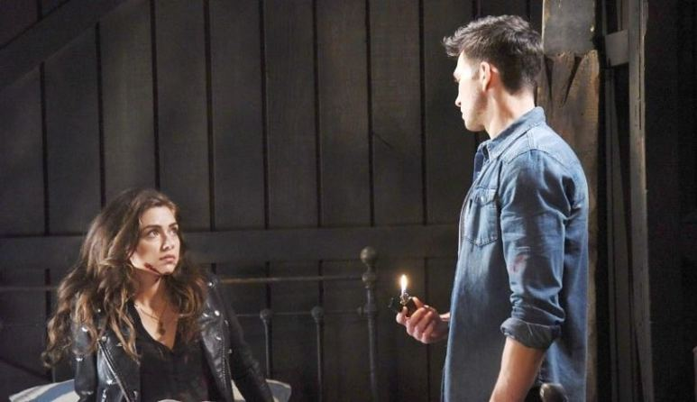 Ben and Ciara on Days of our Lives