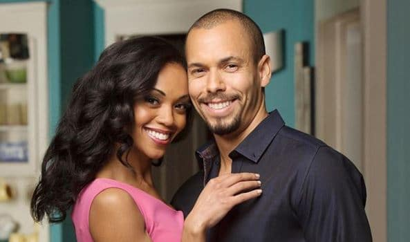 Hilary and Devon from The Young and the Restless