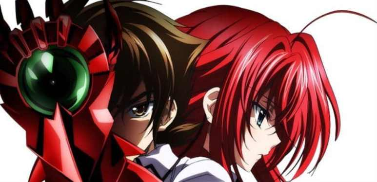 High School DxD Issei And Rias Gremory