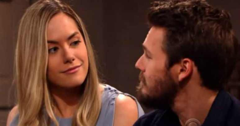 Hope and Liam from The Bold and the Beautiful