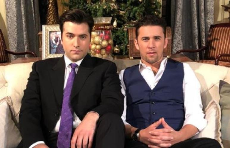 Sonny and Chad on Days of our Lives
