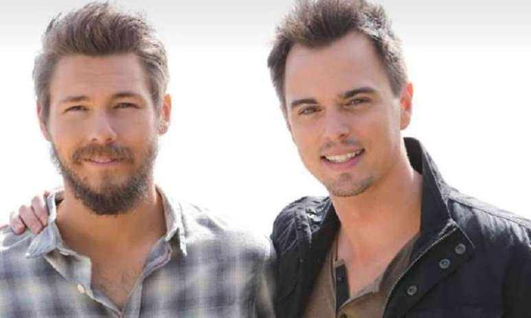 Brothers Liam and Wyatt on The Bold and the Beautiful