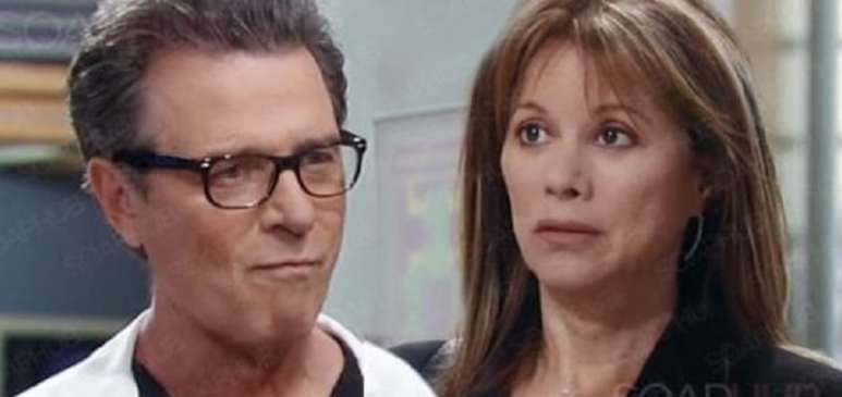 Dr. Bensch and Alexis on General Hospital