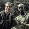 Bear Grylls with Don Cheadle on Running Wild with Bear Grylls