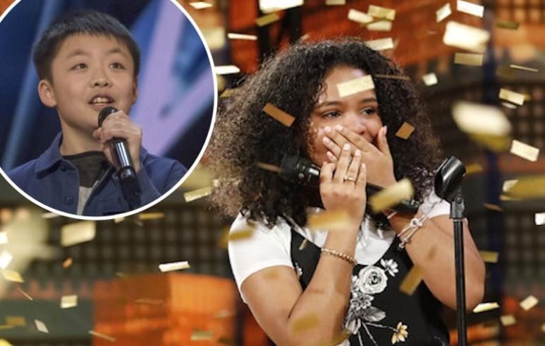 Jeffrey Li and Amanda Mena on America's Got Talent