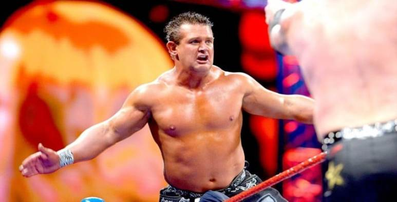 Brian Lawler in the WWE ring