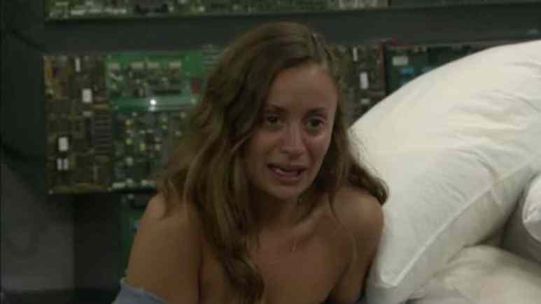 Kaitlyn crying on Big Brother 20