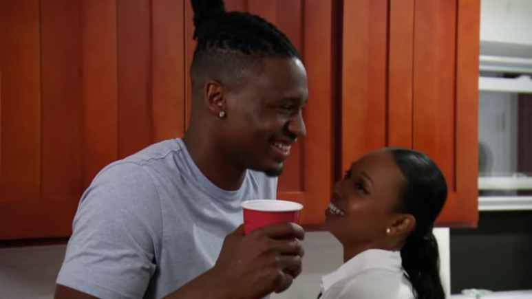 Shawniece and Jephte from Married at First Sight
