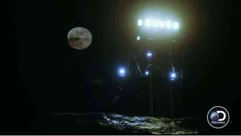 The supermoon looms in the background as all the captains worry for their boats
