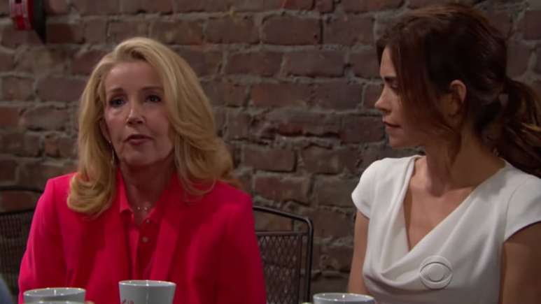 Nikki and Victoria Newman on The Young and the Restless