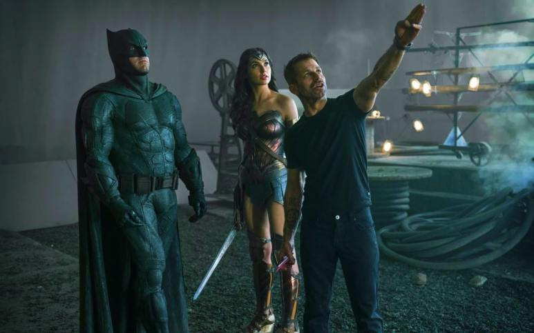 Behind the scenes of Justice League