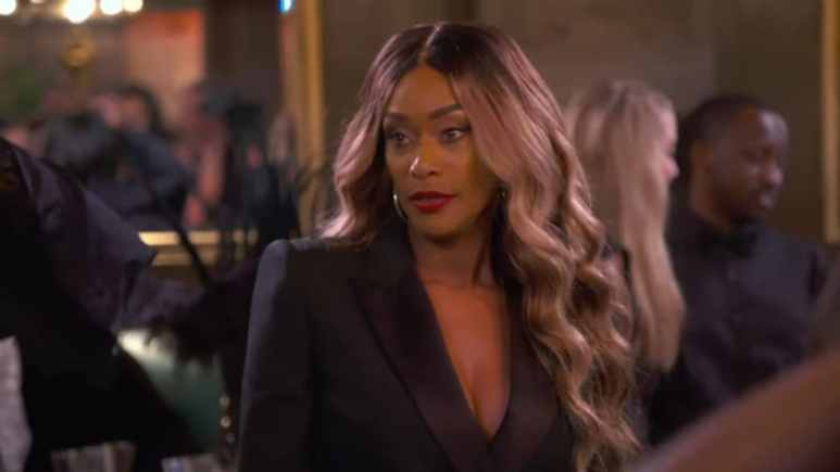Tami Roman as she confronts Jennifer Williams on Basketball Wives