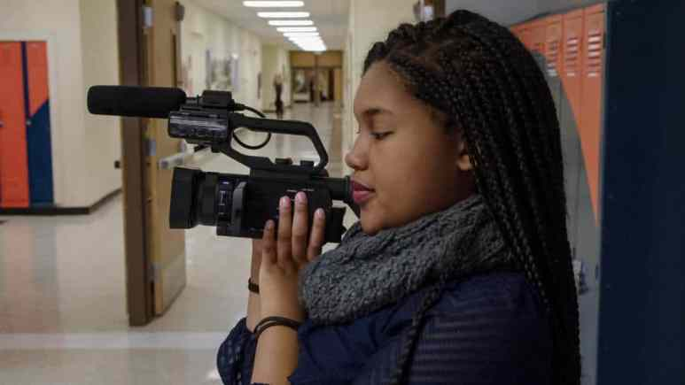 Senior Jada Buford is profiled on the new docuseries America to Me.
