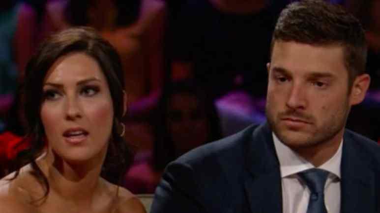Becca and Garrett on Bachelorette