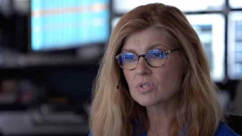 Connie Britton as Abby the 911 dispatcher