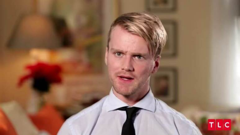Jesse Meester in the confessional on 90 Day Fiance: Before the 90 Days