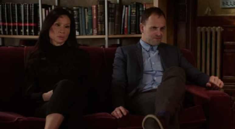 Sherlock Holmes and Joan Watson during Elementary Season 6 finale