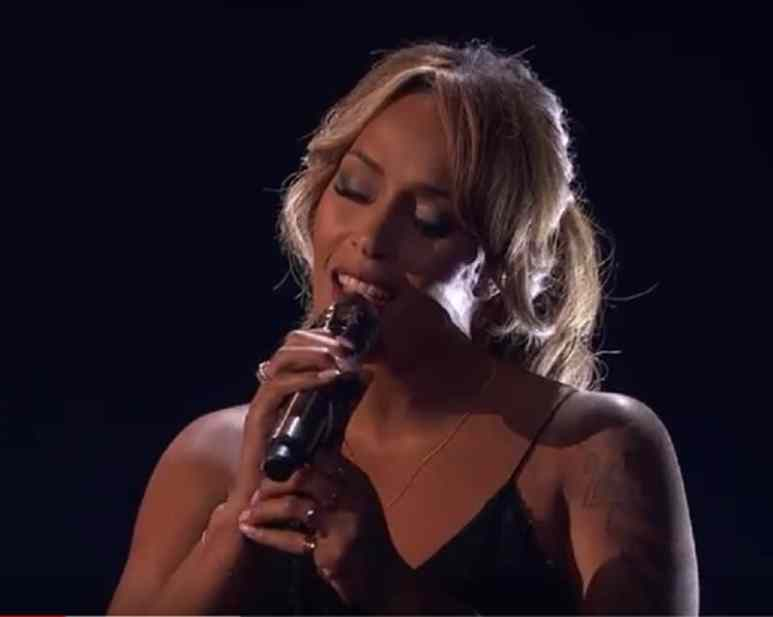 Glennis Grace performs during AGT semifinals
