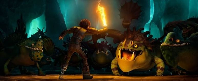 How to Train Your Dragon: The Hidden World, Hiccup and the dragons
