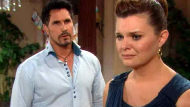 Bill and Katie on The Bold and the Beautiful