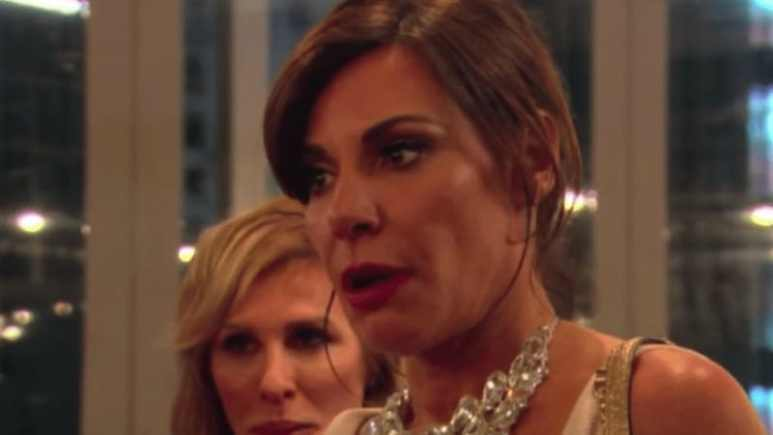 Luann de Lesseps on Real Housewives of New York