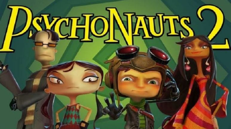 Psychonauts 2: Raz and his friends