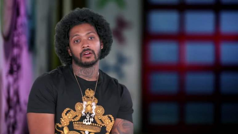 Ryan Henry in the confessional on Black Ink Crew Chicago