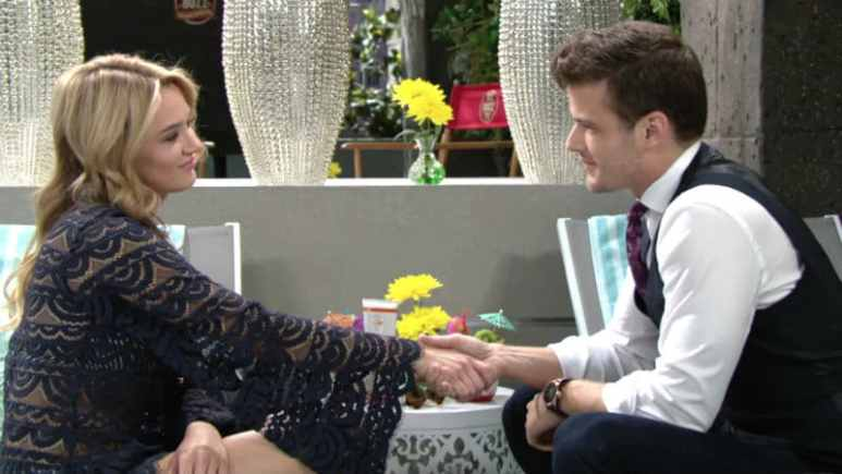 Summer and Kyle on The Young and the Restless