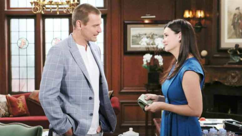 Thorne and Katie on The Bold and the Beautiful
