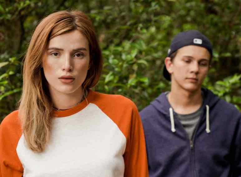 Bella Thorne plays Michelle, not a true friend to Conrad, as we find out. Pic credit: Lifetime