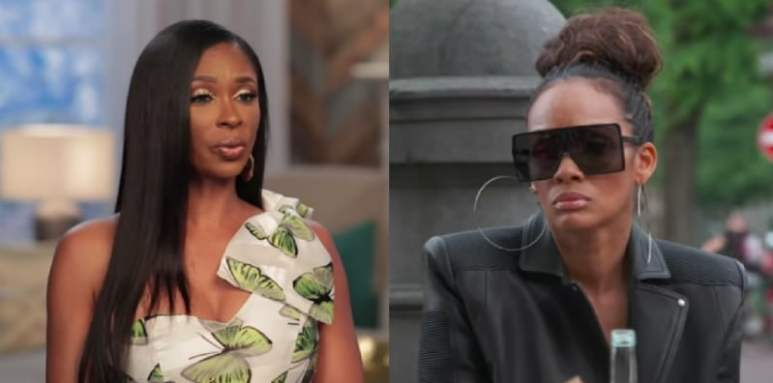 Jennifer Williams and Evelyn Lozada on Basketball Wives