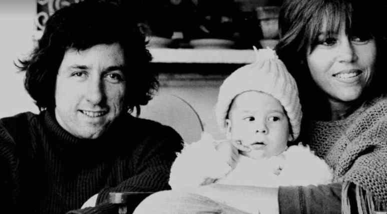 Tom Hayden acted out in affairs as Fonda's success grew inside their marriage. Pic credit: HBO
