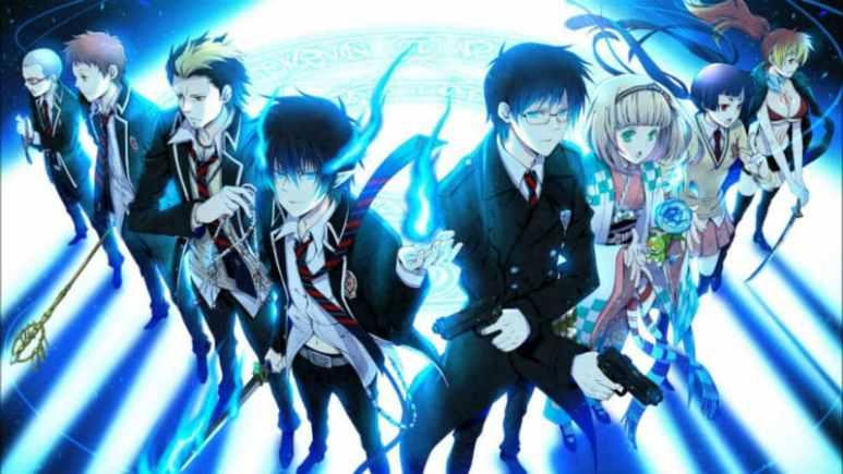 Blue Exorcist anime artwork