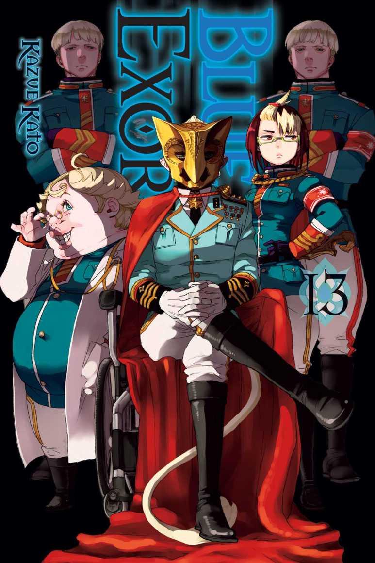 Blue Exorcist Manga Volume 13 Cover Illuminati