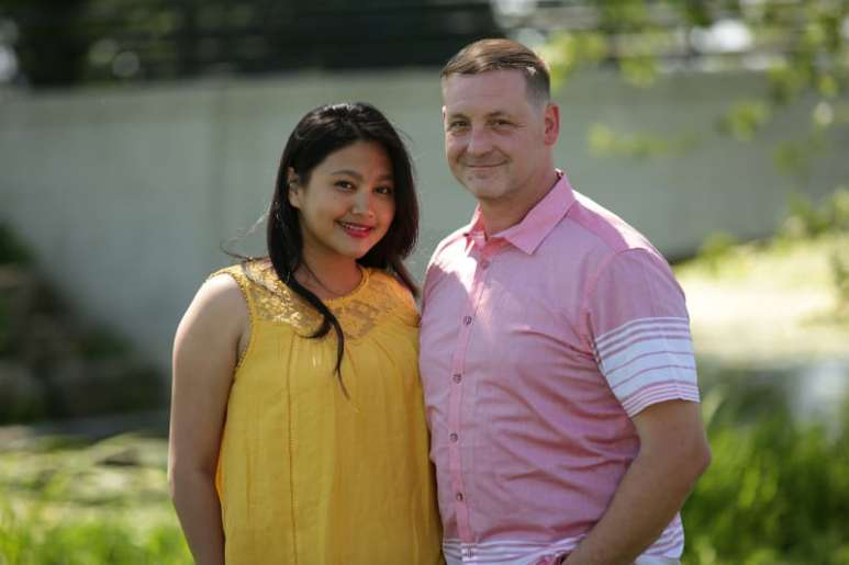 Leida and Eric on Season 6 of 90 Day Fiance