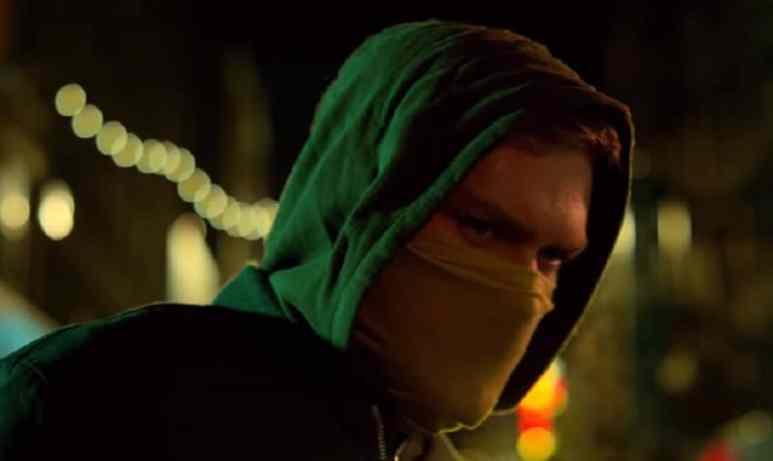Finn Jones as the Iron Fist on the Marvel Netflix show
