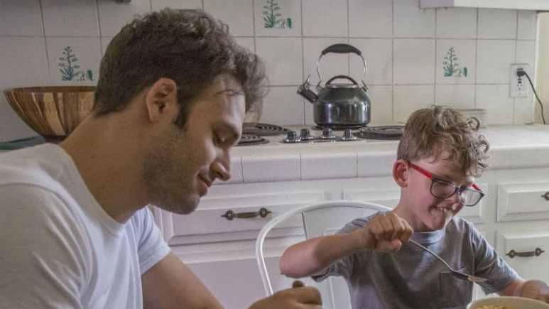 Ryan Guzman and Gavin McHugh as Eddie and Christopher Diaz